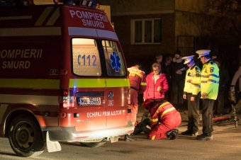 Kerékpárost gázolt egy ittas rendőrségi alkalmazott Besztercén