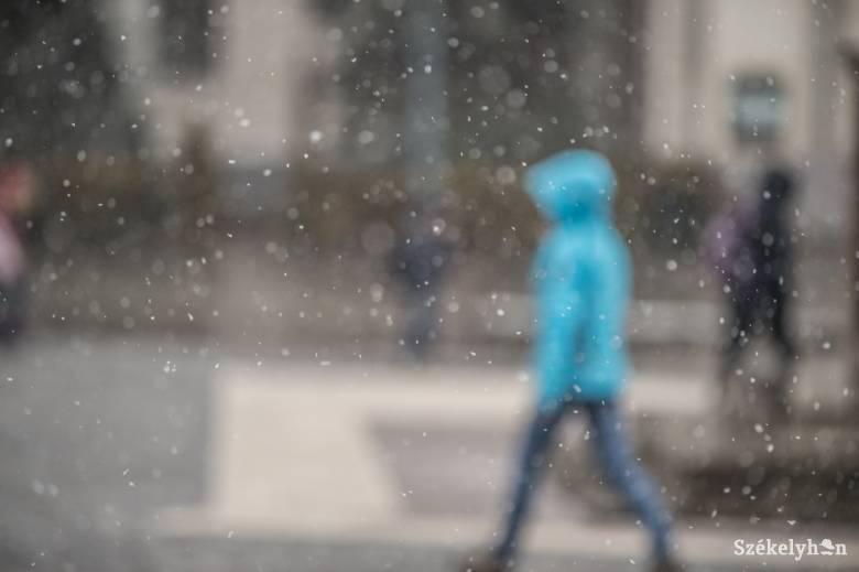 Péntek estig havazhat az előrejelzések szerint