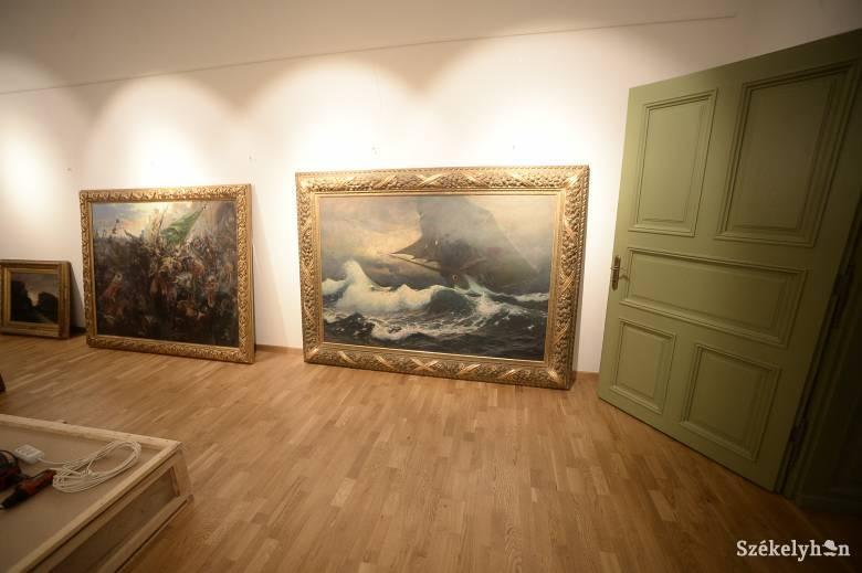 A magyar festészet remekműveit állítják ki a Haberstumpf-villában