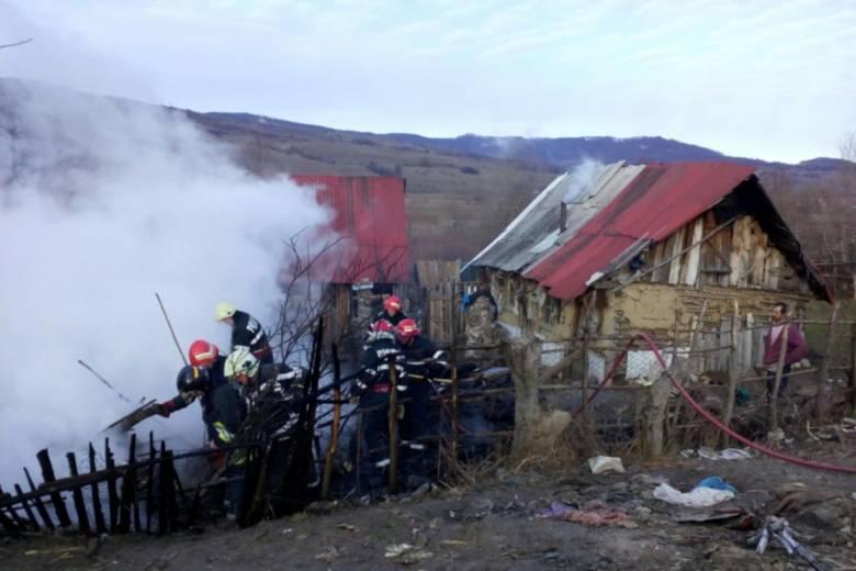Két udvarhelyszéki lakóházban keletkezett tűz