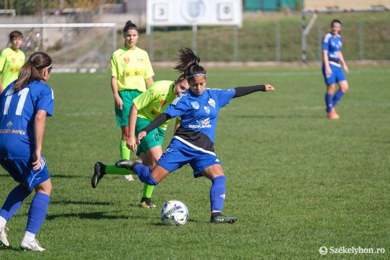 Fél tucat gólt lőtt a Vasas Femina Târgoviștén