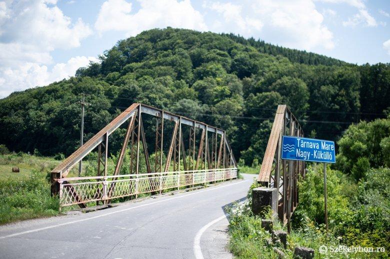 Egy éve tolódik a décsfalvi híd újjáépítése