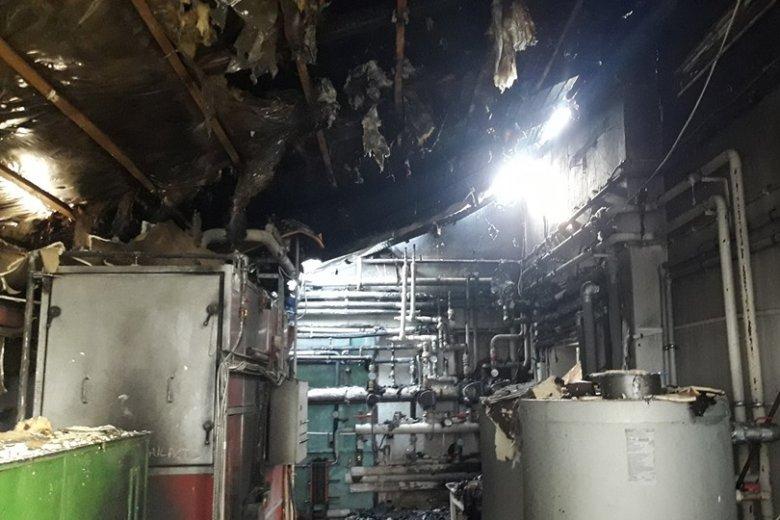 Homoródszentpáli tűzeset: a tejgyár tetőzetében keletkezett jelentősebb kár