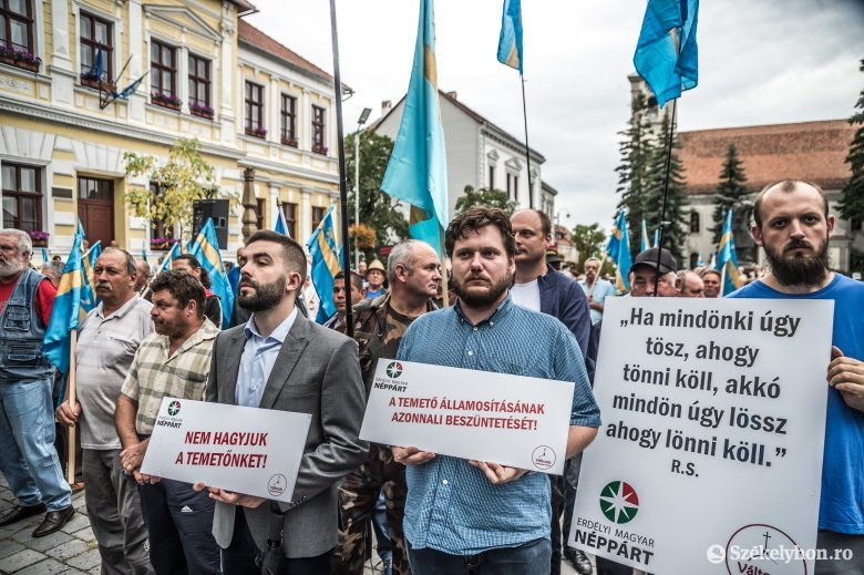 Ne bántsd a magyart! – Marosvásárhelyen is tüntetésre hív az EMNP