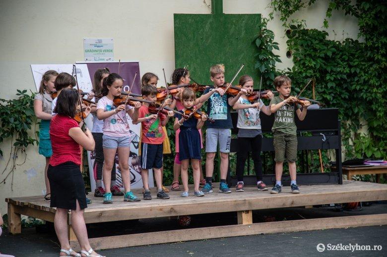 Végigénekelték-muzsikálták a hetet – koncerttel zárták a Legato-zenetárbort