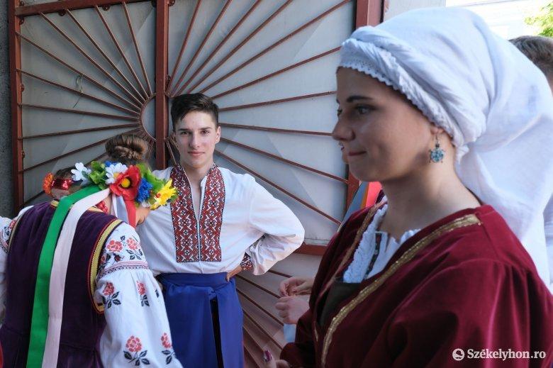 Egy helyen a romániaban élő nemzetiségek