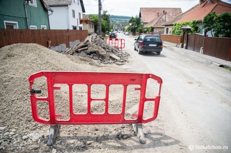 Két újabb utcát csatlakoztatnak a gázhálózathoz Székelyudvarhelyen