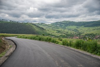 Új út Homoródszentmárton és Homoródalmás között