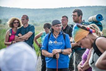 Népes csoportok érkeznek a Mária-úton Csíksomlyóra