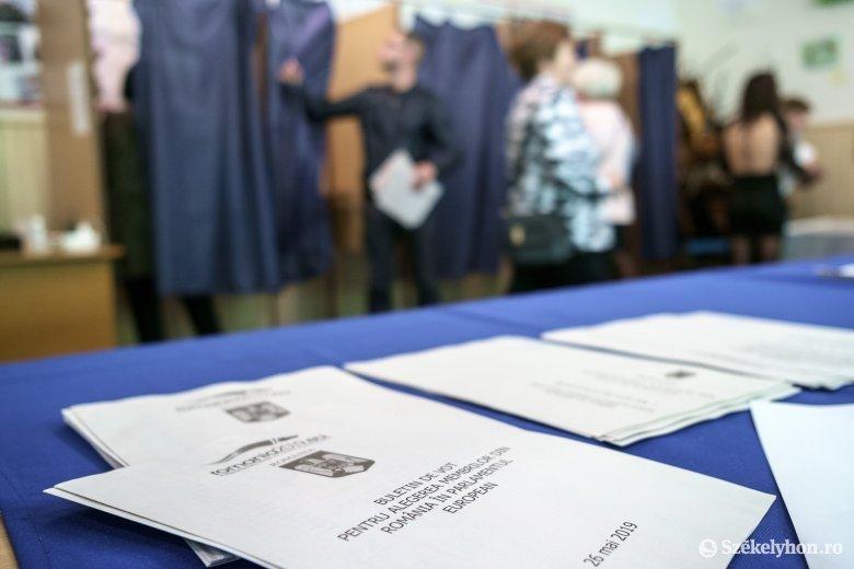 Exit-poll: öt százalék fölött az RMDSZ, fej-fej mellett a PSD és a PNL