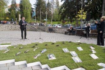 A holokauszt székelyudvarhelyi áldozataira emlékeztek
