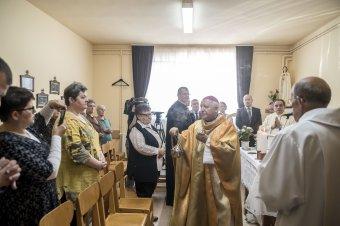 Felújították a kórházi kápolnát Udvarhelyen