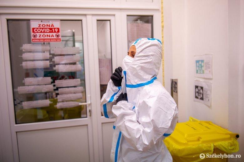 Szokásos hét eleji visszaesés az új koronavírus-fertőzések számának tekintetében