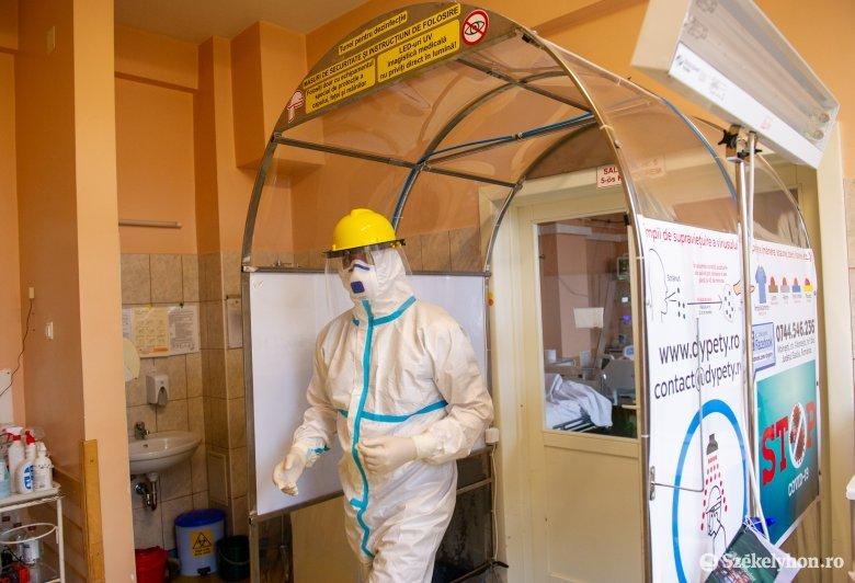 Egy nap alatt 11 koronavírusos beteg hunyt el Maros megyében