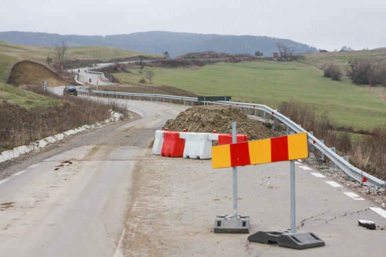 A szakértők szerint több hibát is vétett a kivitelező a 135-ös megyei úton