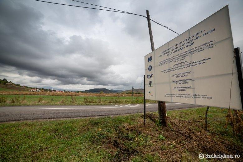 Olasz cég újíthat fel több udvarhelyszéki útszakaszt