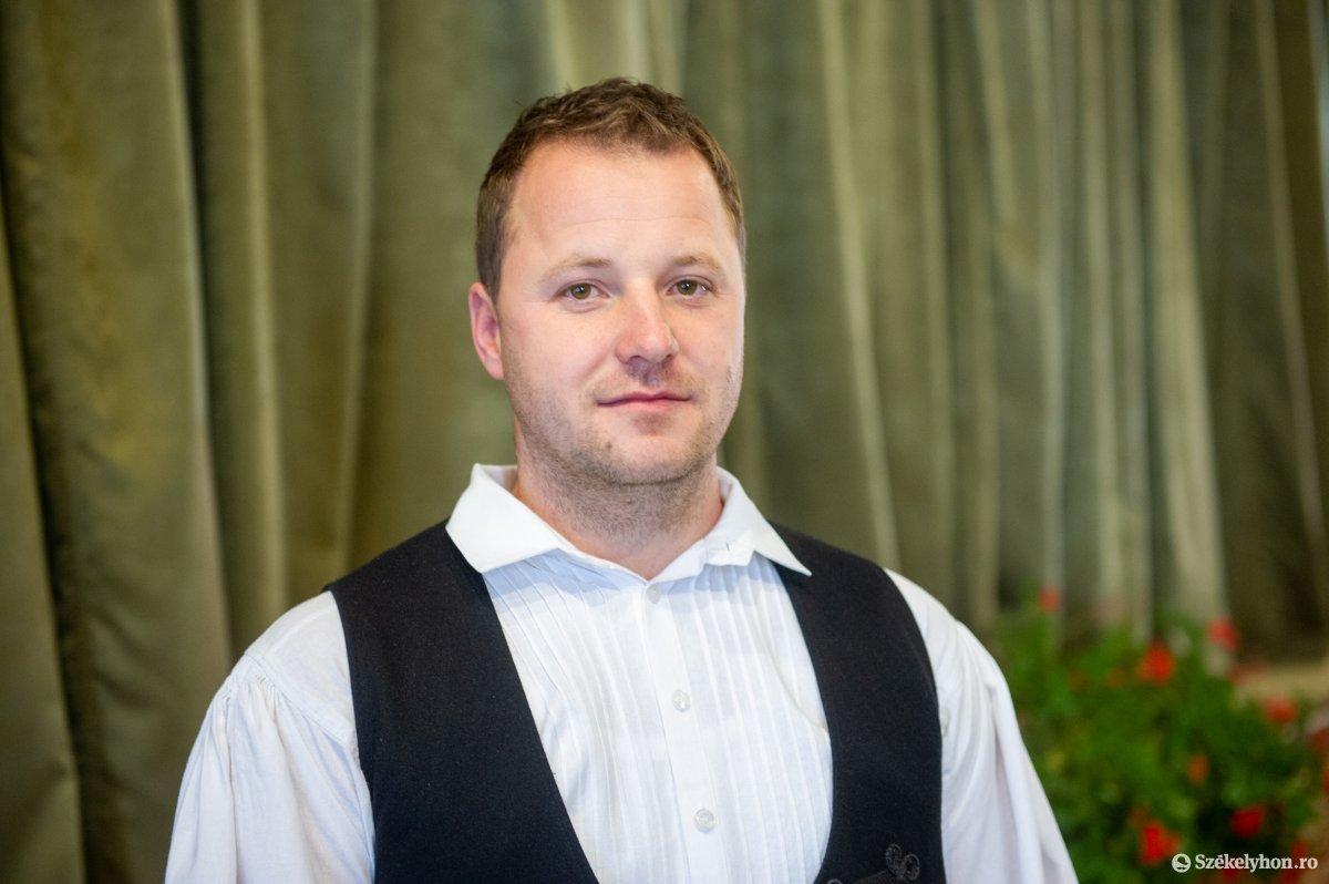Lőrincz Csaba, Szentegyháza újonnan megválasztott polgármestere. Beiktatták •  Fotó: Beliczay László