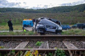 Alkohol befolyása alatt volt a vonattal ütköző Volvo vezetője