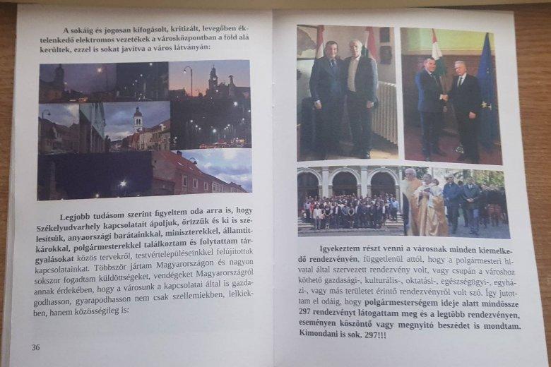 Nem járultak hozzá a magyarországi politikusok, hogy Gálfi kampánykötetében szerepeljenek
