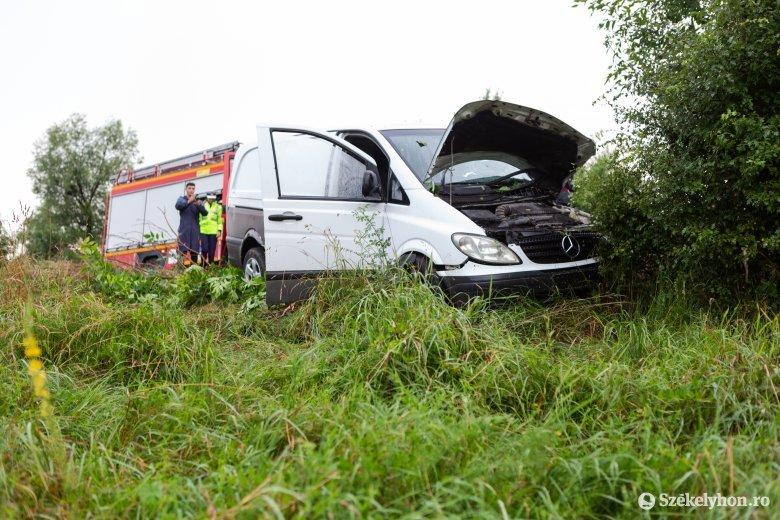 Halálos baleset történt a székelyszenttamási eltérőnél