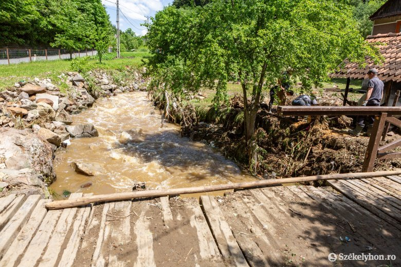 Hódvárak fokozzák az árvízveszélyt