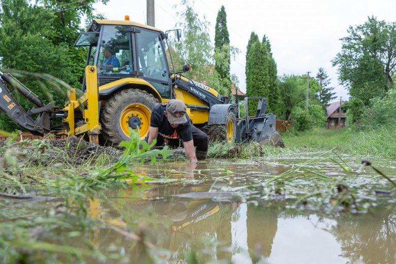Jelentős károkat okozott az áradás több udvarhelyszéki községben