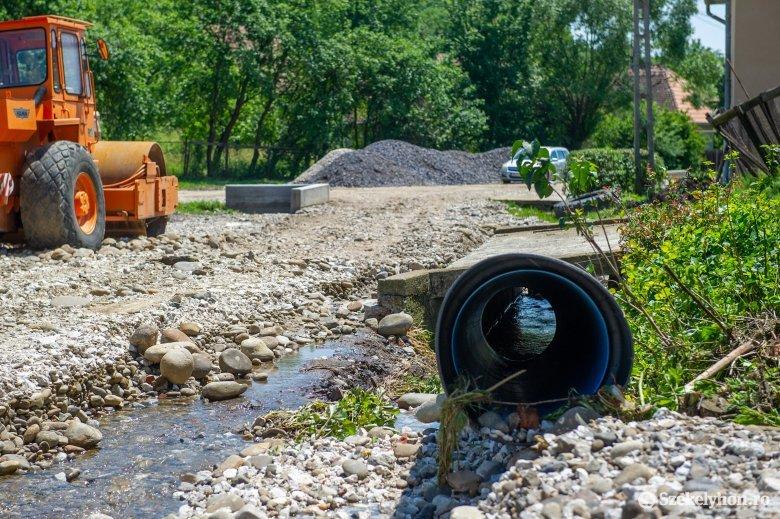 Három udvarhelyszéki községben is pusztított az árvíz