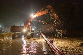 Újabb árvizek Udvarhelyszéken, kiöntött a Nagy-Küküllő Décsfalvánál