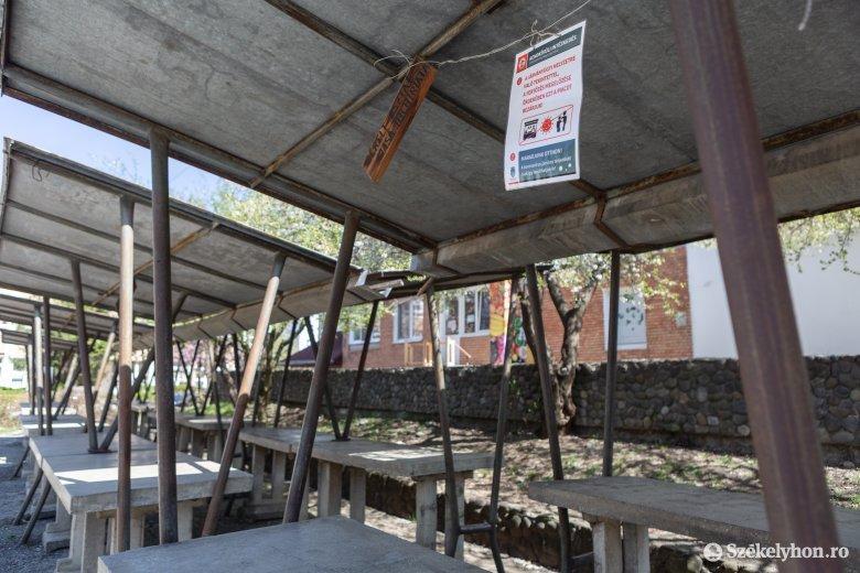 A székelyudvarhelyi városi vásártéren árulhatnak a helyi termelők