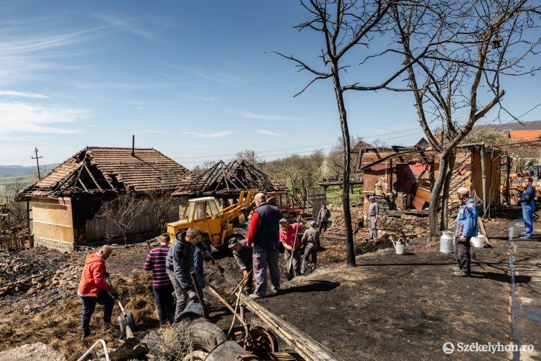 Gyűjtést szerveznek az oroszhegyi tűzvész károsultjainak