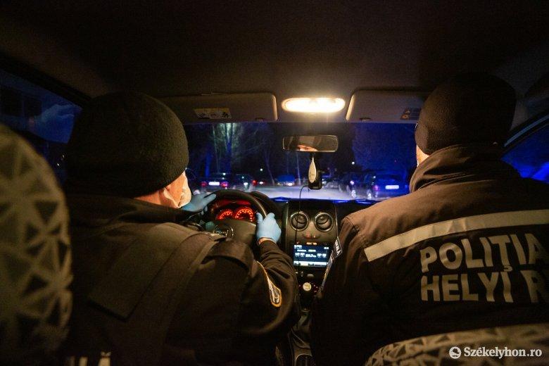 Kijárási tilalom Székelyudvarhelyen: elkísértük az utcákat ellenőrző járőröket