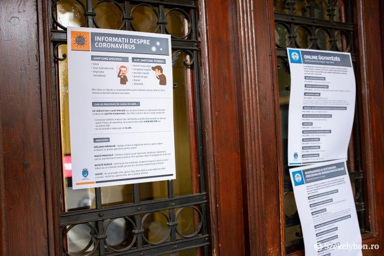 Hargita megyében húsz személy van intézményes karanténban