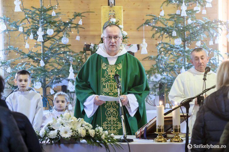 Pálos szerzetes Hargitafürdőn