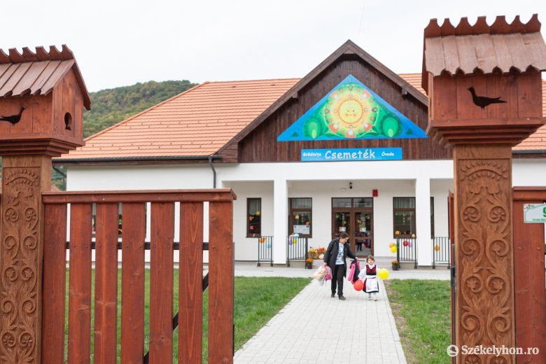 Új napköziotthonnal gazdagodott Fenyéd község