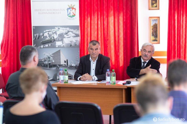 Jelentős beruházást folytat a református egyház Székelyudvarhelyen