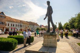 Petőfi Sándorra emlékeztek Székelykeresztúron