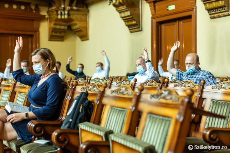 Teljes egységben szavazott a székelyudvarhelyi képviselő-testület