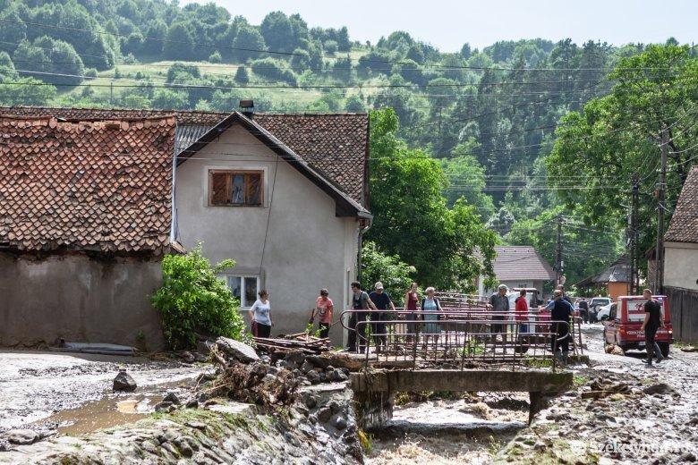 Nehézkesen halad az áradások által okozott károk kijavítása