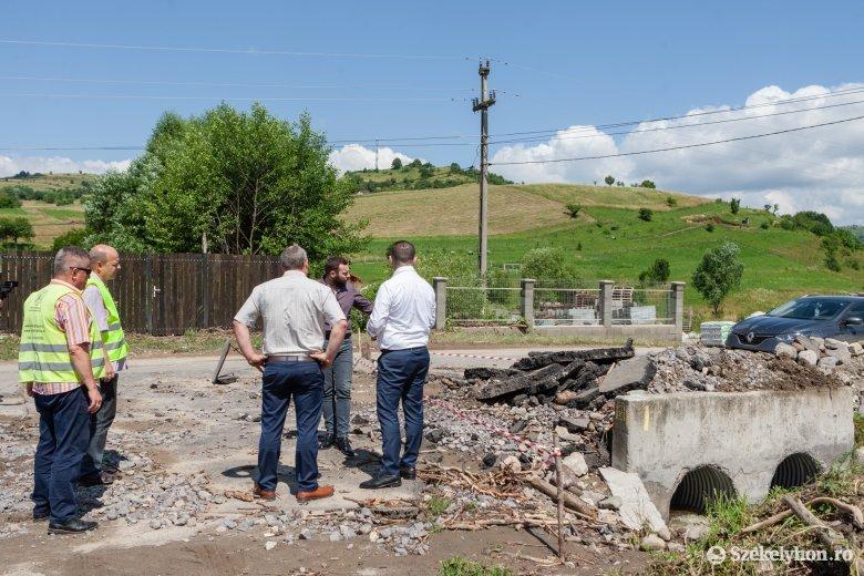 Új híddal oldanák meg a lövétei árvizek ügyét