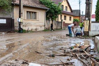 Közel tízmillió lejnyi kárt okoztak az eddigi felmérések szerint az áradások Hargita megyében