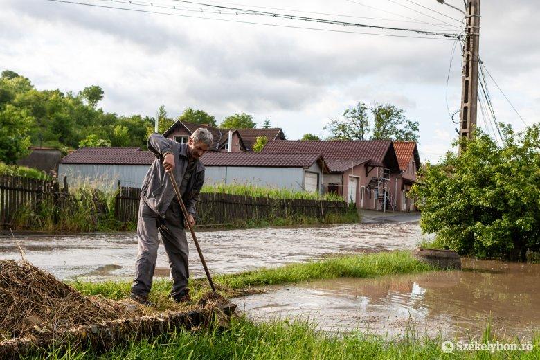Kormánytámogatás Hargita megyének az árvízkárok helyreállítására