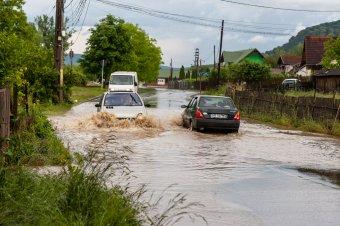 Csütörtök délutánig másodfokú árvízriadó érvényes Erdélyben is