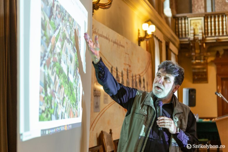 Bemutatták a Székelytámadt-vár felújításának tervét