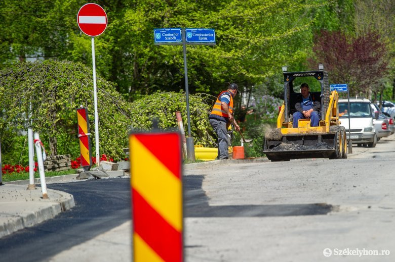 Rövidesen újabb hét utcában cserélik ki a gázvezetéket Székelyudvarhelyen