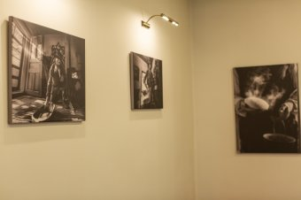 Ádám Gyula képei a Páva Étteremben