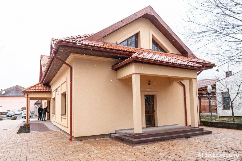 Hamarosan használatba veszik az újonnan épült polgármesteri hivatalt Fenyéden
