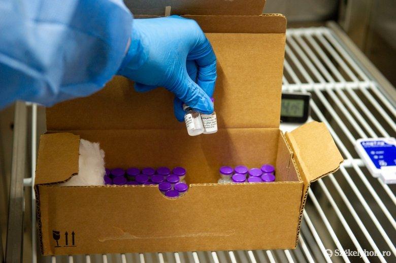 Nagy mennyiségű Pfizer-vakcina érkezik hétfőn Romániába