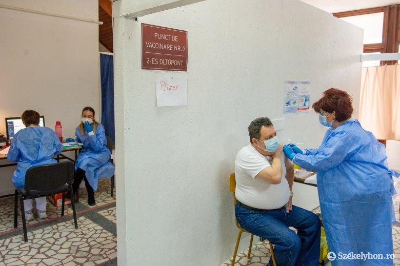 Florin Cîțu: ma az oltási kapacitás elérte a napi 115 ezer személyt