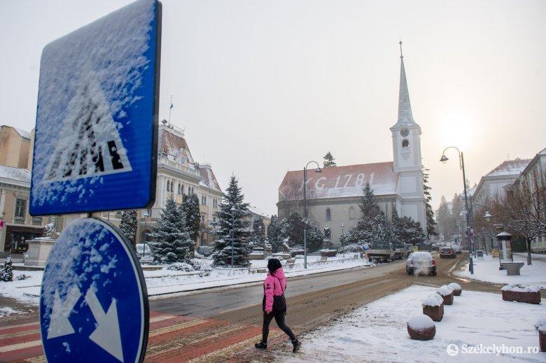 Havazás és esetleges hóviharok váltják a tavaszias időjárást a hétvégén
