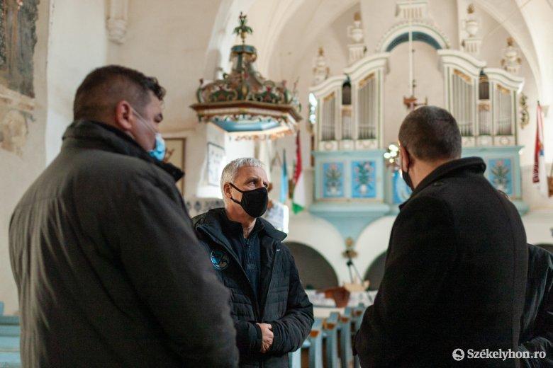 Újabb egyházi és közösségi beruházásokat támogat a magyar kormány Udvarhelyszéken